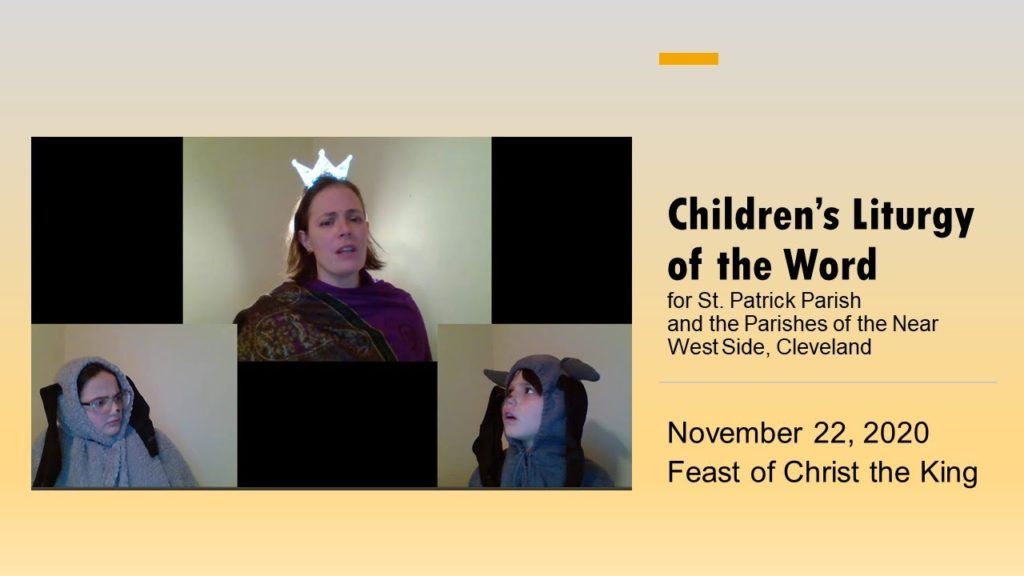 Children's Liturgy of the Word 11.21.2020