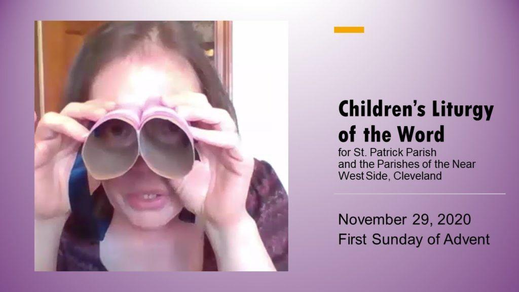 Children's Liturgy of the Word 11.29.2020