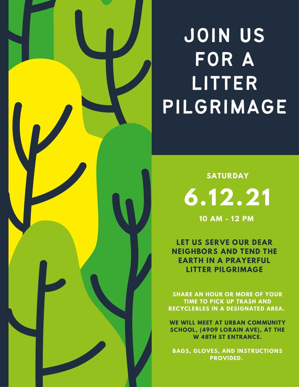 Next Litter Pilgrimage – June 12 10am-12pm