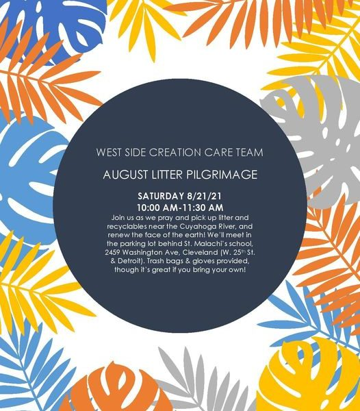 Invitation to West Side Creation Care Litter Pilgrimages